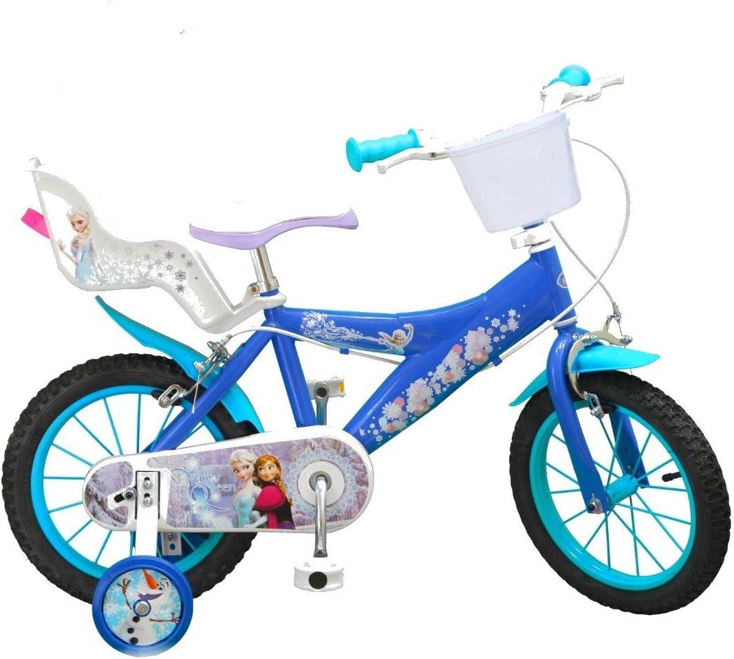 Bicicleta Oficial de La película Frozen de Disney PN 14 pulgadas ...