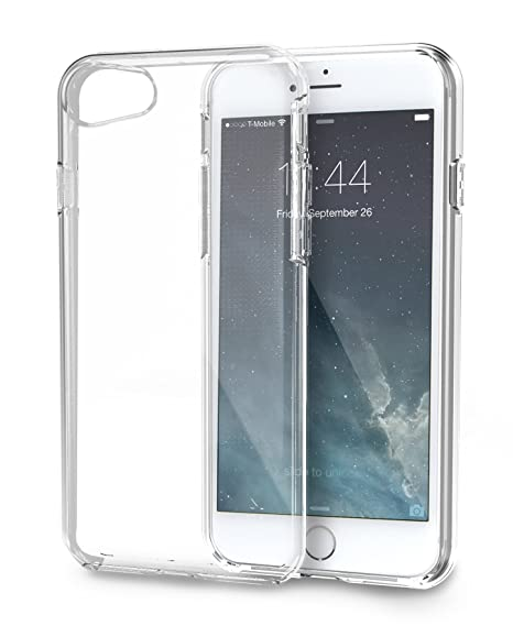 on sale db166 c70af Silk iPhone 8/7 Clear Case - PureView for iPhone 8/7 [Ultra Slim Fit  Protective Clear Cover] - Crystal Clear