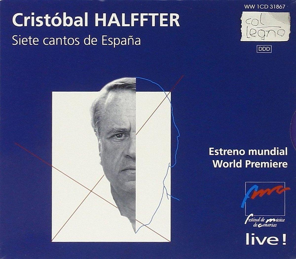 Siete Cantos de España: Cristobal Halffter, DIVERS: Amazon.es: Música