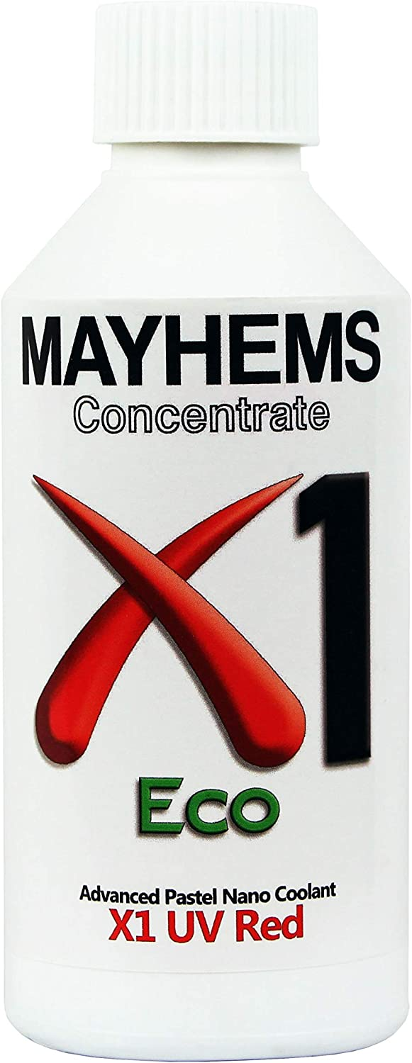 Mayhems X1 Eco Coolant Concentrate, 250mL, UV Red