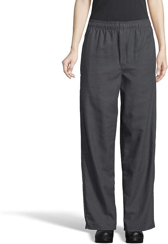Uncommon Threads Pantalones De Chef Holgados Tenidos De Hilo Pantalones Para Chef Para Mujer Amazon Com Mx Ropa Zapatos Y Accesorios