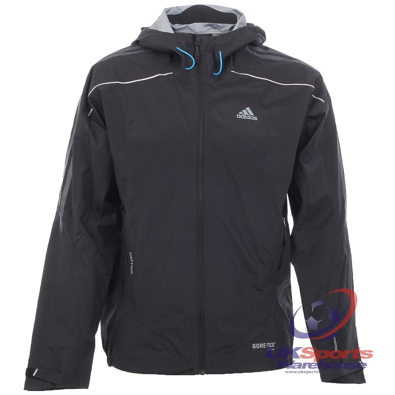 adidas para hombre Terrex Gore-TEX Active Shell chaqueta de escalada  (z08841) negro RRP £200 40989f7a77ce3