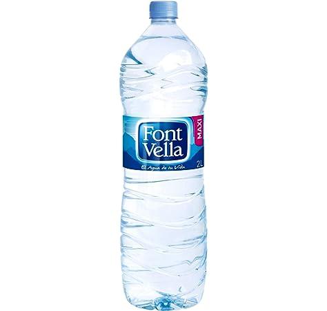 Font Vella - Agua Mineral Natural 2 L: Amazon.es: Alimentación y bebidas