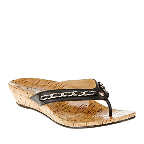 458e05527066 Image Unavailable. Image not available for. Color  Orthaheel Vionic Aruba - Womens  Wedge Sandals ...