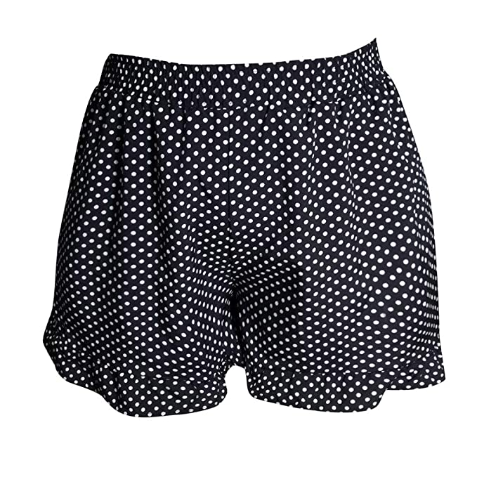 Amazon.com: Womens Yoga Pants,Polka Dot Shorts Skort Beige ...