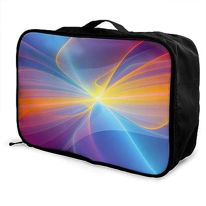 8c7a28f82b26 Amazon.com: Mintslove Fashion Portable Luggage Bag Artistic Graphic ...