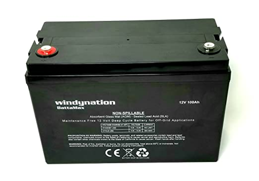 Windy Nation Sealed Lead Acid AGM Battery