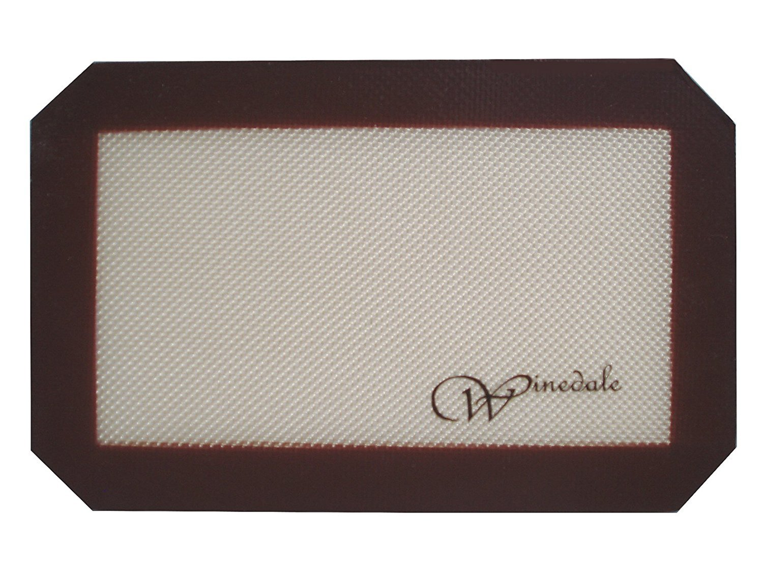 Winedale Turn Your 11x7 Toaster Oven Pan, Baking Pan, Biscuit or Brownie Pan Into A Non-Stick Pan. 11x7 Mat Measures 10 x 6-1/4 and is Made For The 11x7 Cookie Sheet or Baking Pan.
