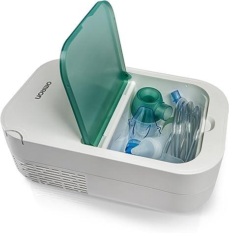 OMRON DuoBaby Inhalador con aspirador nasal 2 en 1, especialmente ...