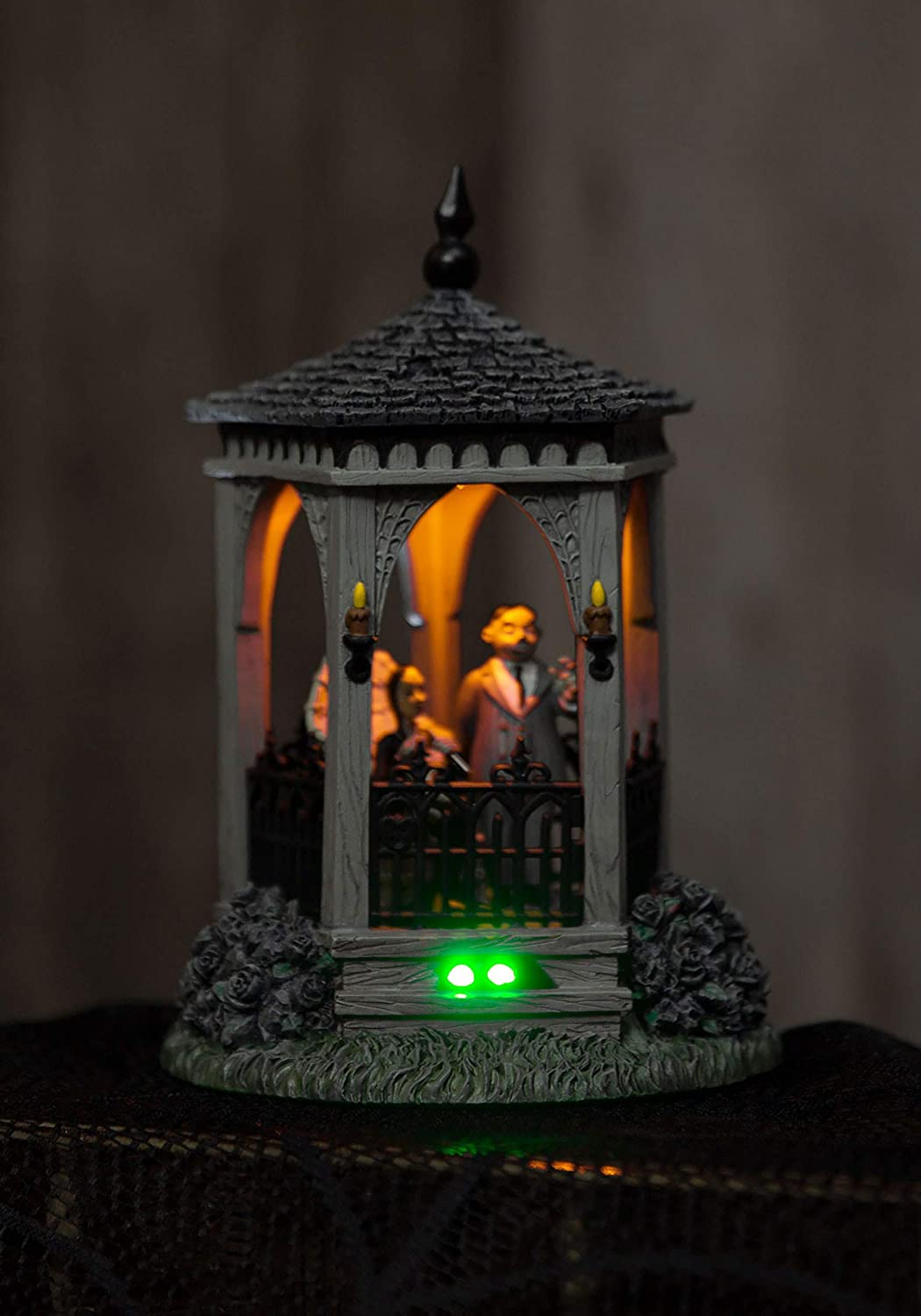 Department 56 The Addams Family Village The Gazebo at Moonlight Lighted Building