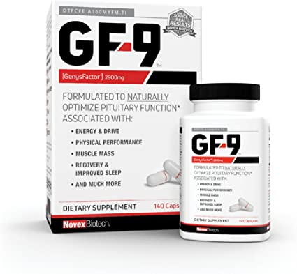 Amazon Com Gf 9 140 Count Hgh Boosting Supplements For Men Human Growth Hormone Booster For Men Hgh Booster For Men Boost Critical Peptide That Supports Energy Sex Drive Physical Performance