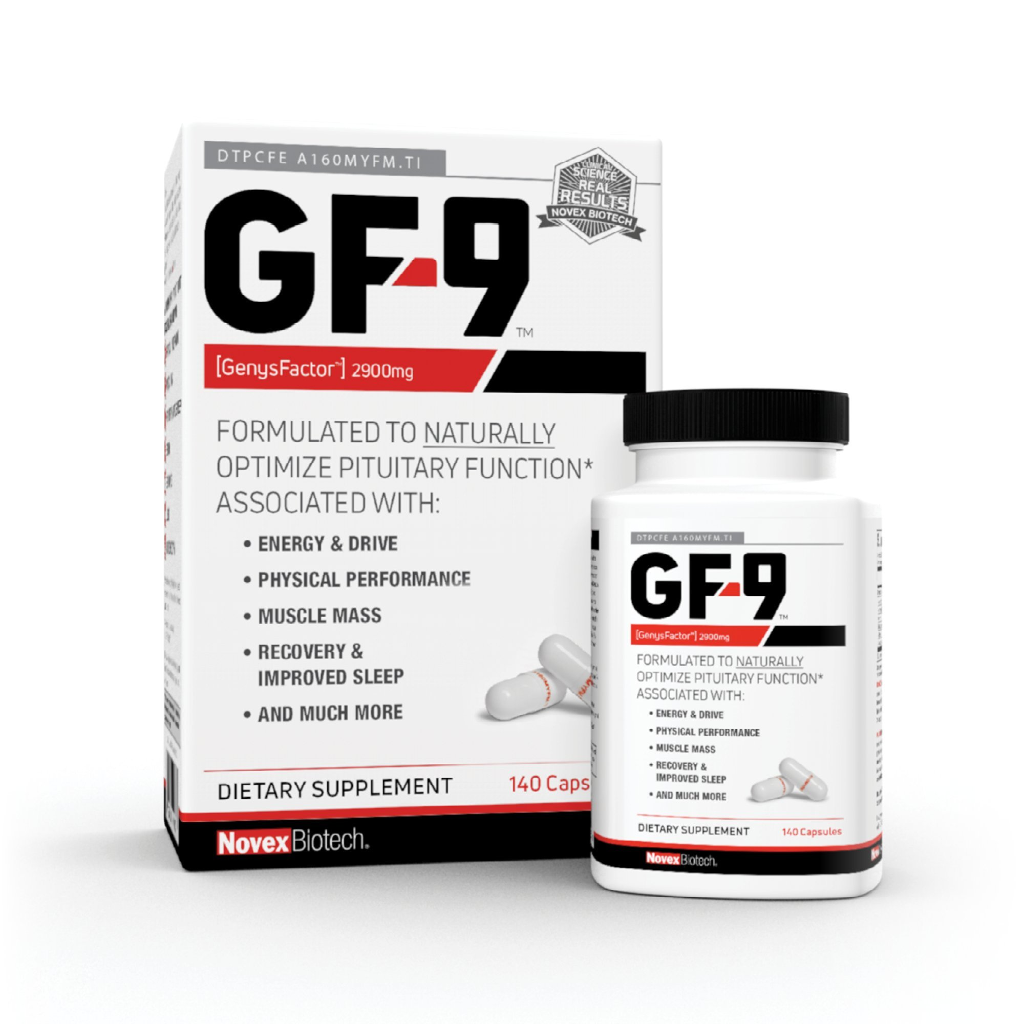 Novex Biotech GF-9 Multivitamins, 140 Count