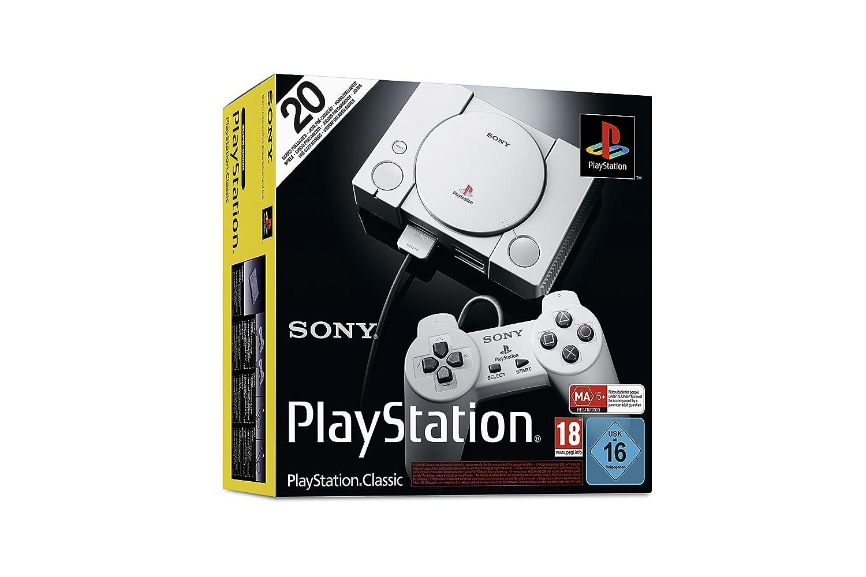 Sony PlayStation - Consola Classic + 2 mandos: Sony: Amazon ...