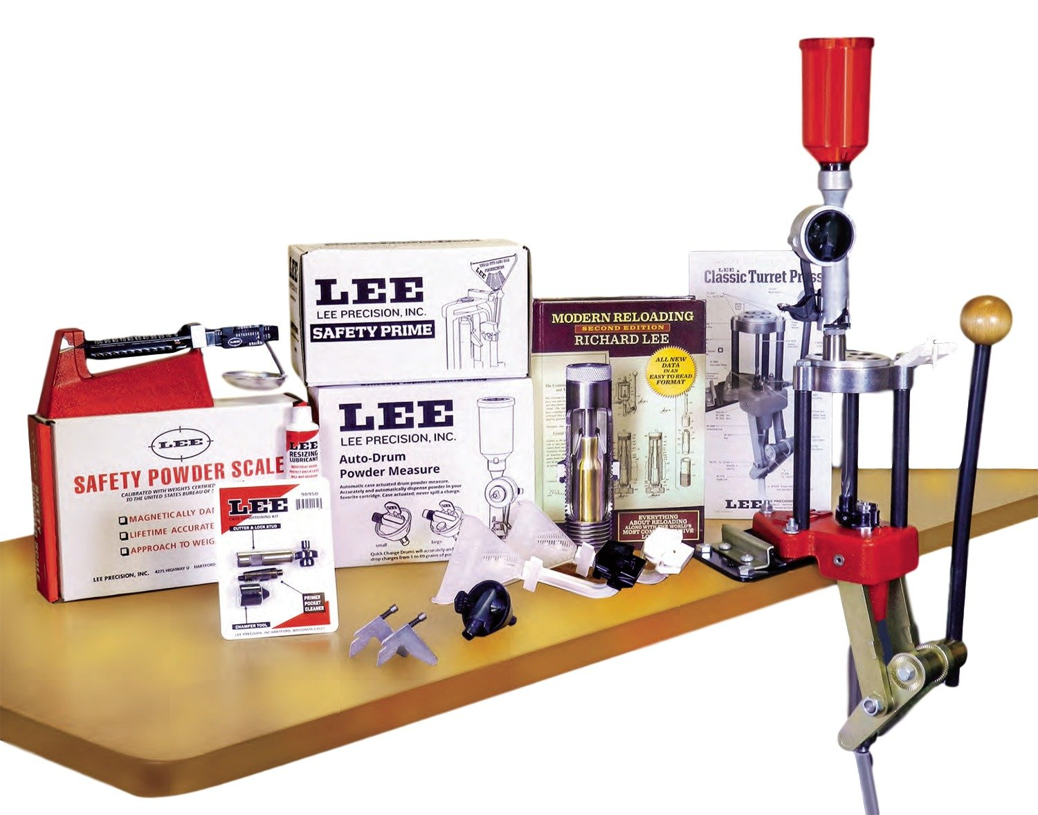 LEE PRECISION Classic Turret Press Kit by LEE PRECISION