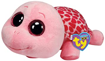 Ty 36988 Beanie Boos Glubschi Myrtle Buddy - Tortuga de peluche (tamaño grande),