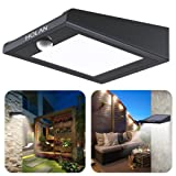 【Updated Version】30 LED Solar Light,Holan Solar Powered Security Lights Outdoor, Super Bright / Waterproof / Wireless / 120 Degree Wide Angle Motion Sensor Wall Lights for Garden, Fence, Patio, Deck, Yard, Driveway, Stairs, Outside Wall etc