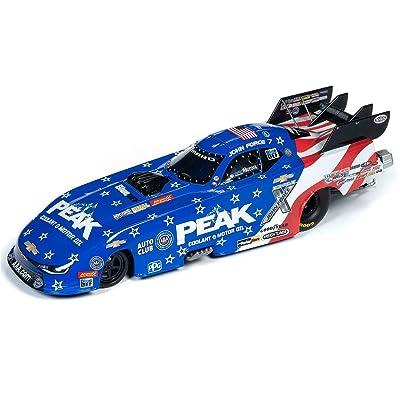 Auto World 2020 John Force Patriotic Peak NHRA 1/24th Scale Funny Car die-cast Replica: Sports & Outdoors