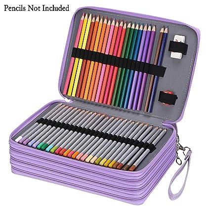 Sumnacon 200 - Estuche para lápices de colores para diseñador ...