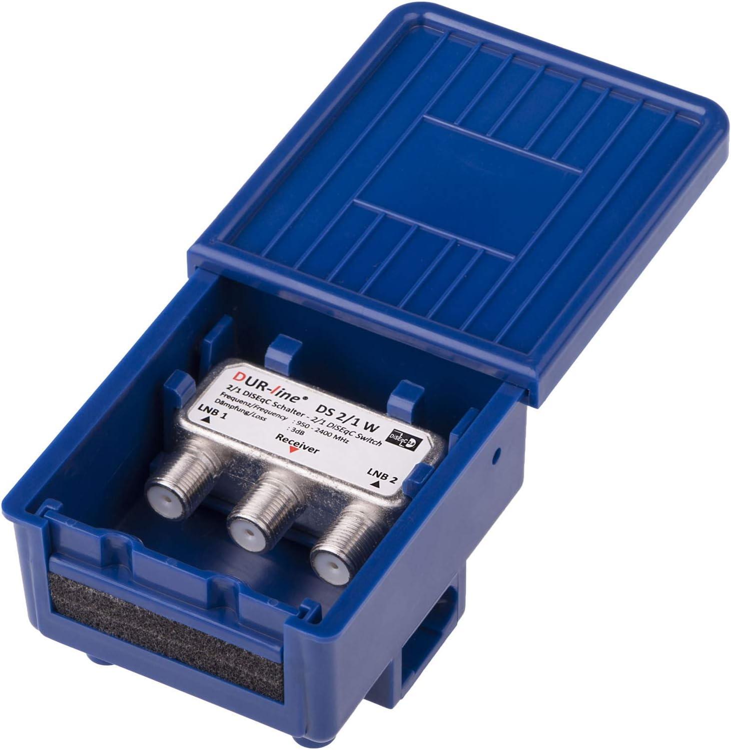 Dur Line 2 1 Diseqc Schalter Im Wetterschutzgehäuse Elektronik
