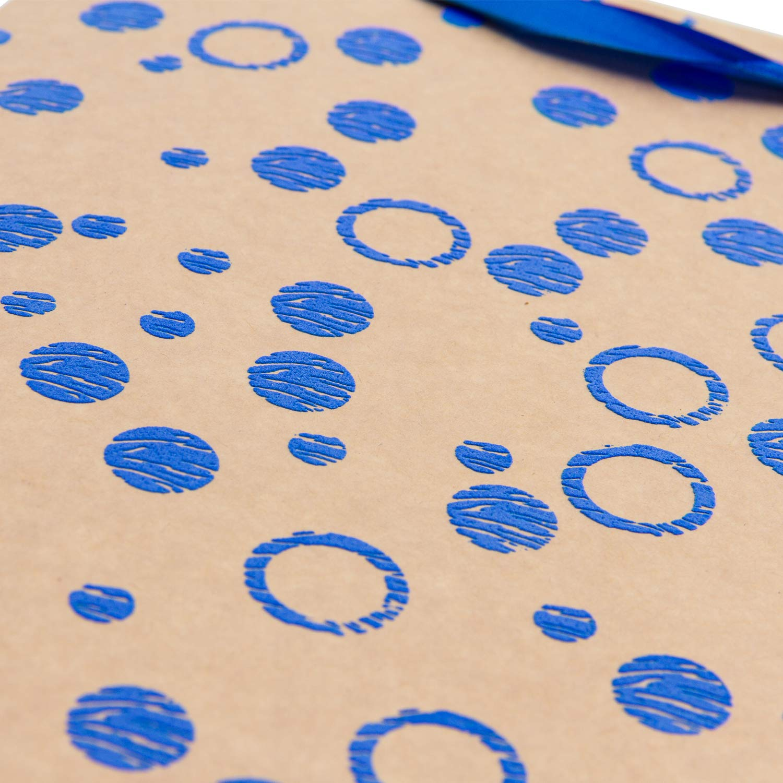 Loveinside Regalo de tama/ño Medio Bolsa de Regalo de 3D EVA Espuma Puntos Regalo Conjunto para Compras Craf-12Pack-18 X10 X 23 CM Fiestas Baby Shower Boda