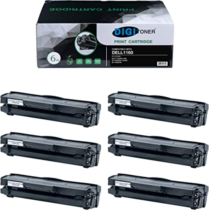 Compatible 8-Pack 331-7335 Toner Cartridge for Dell 1160 B1160 B1160W