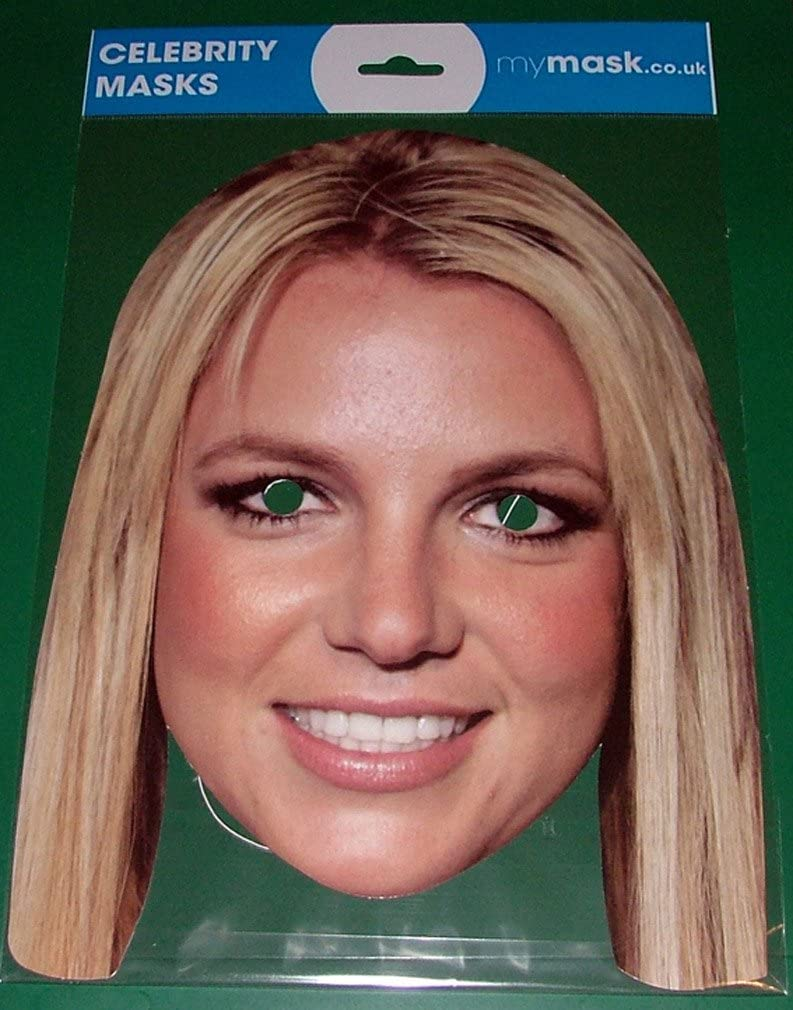 Britney Spears Celebrity Face Mask by My Mask: Amazon.es: Juguetes ...