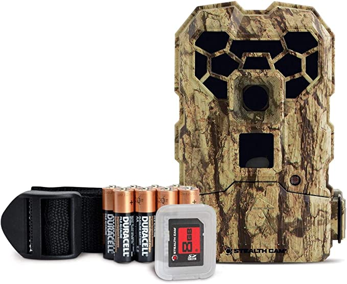 Stealth Cam Ghost 24 Infrared 20MP Trail Camera Kit W// Batteries /& SD Card New