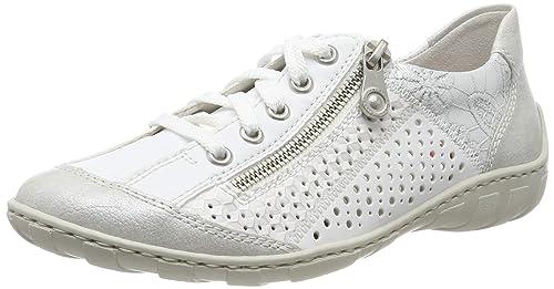 kosten charm exklusives Sortiment bieten Rabatte Rieker Damen M37g6-80 Sneaker