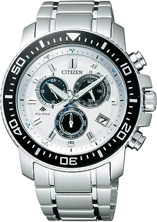 d41273e614 [シチズン]CITIZEN 腕時計 PROMASTER プロマスター エコ・ドライブ 電波時計 クロノグラフ ランドシリーズ