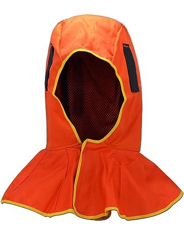 FR Capucha de protección completa con todo tipo de casco de soldadura