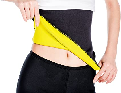 XL Hot Shapers Waist Trimmer Body Shaper Slimmer Fat Burning Belt Neoprene L