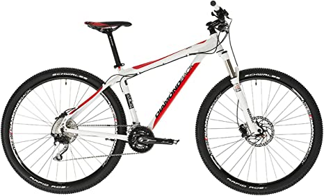 DIAMONDBACK Apex - Bicicleta de Enduro, Color Blanco/Rojo, 18 ...
