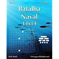 Batalha Naval 14x14 - Volume 1 - 276 Jogos