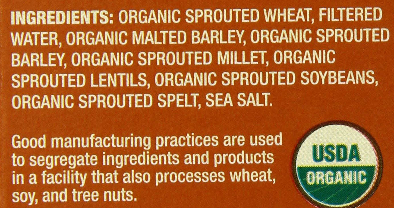 Food For Life Ezekiel 4:9 Organic Sprouted Whole Grain Cereal, Original, 16-Ounce Boxes (Pack of 6) by Food for Life (Image #3)