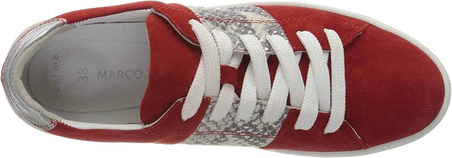 MARCO TOZZI 2-2-23767-24, Sneakers Basses Femme Rouge Red Comb 597