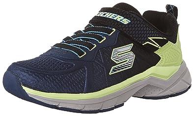 skechers shoes for boys. skechers kids boys\u0027 ultrasonix sneaker, navy/black, 10.5 m us little kid shoes for boys
