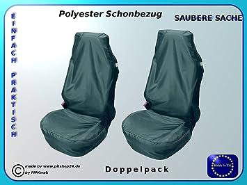 Werkstattschoner Autositzschoner Schonbezug  Sitzschoner PKW Sitz Doppelpack