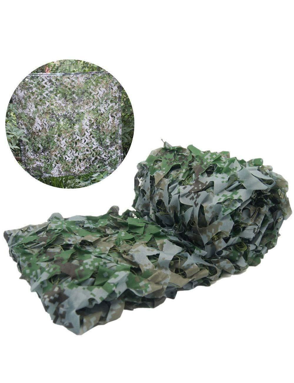 ZALIANG Camouflage Filet Caché Filet Prougeection Réseau CS Ombre de Jeu Filet Tente extérieure Balcon Jungle Fleur Plante Jungle