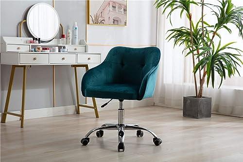 Henf Velvet Chair Task Chair Home Office Chair