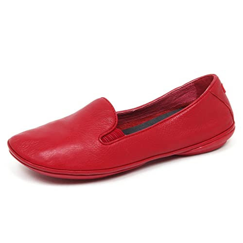 E6040 (Without Box) Mocassino Donna Red Camper Scarpe Loafer Shoe Woman [38]: Amazon.es: Zapatos y complementos