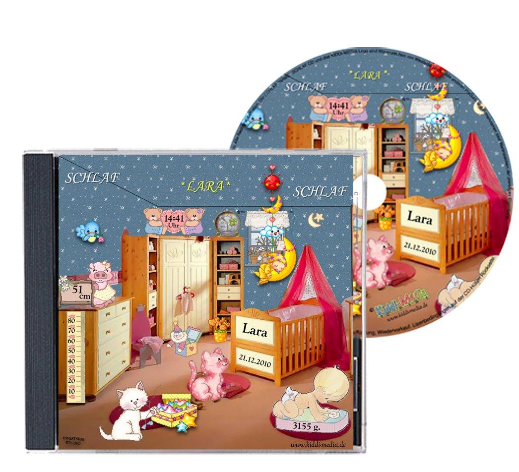 Personalisierte SCHLAFLIED CD gesungen mit dem Namen IHRES Kindes ...