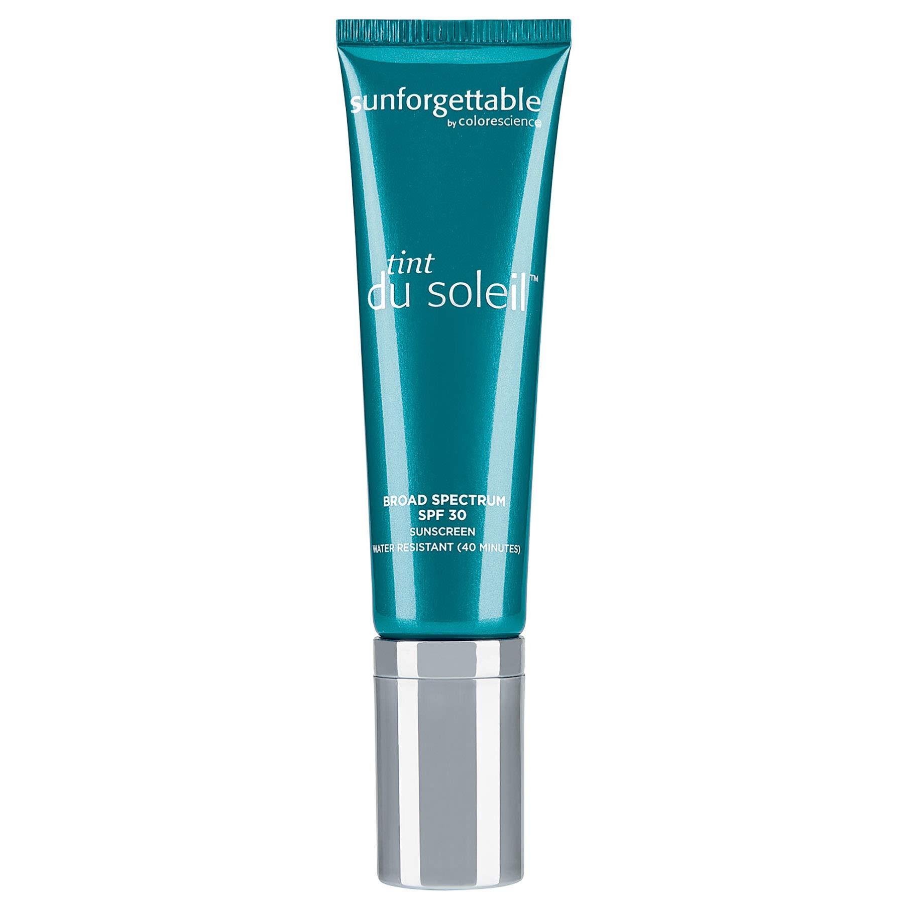 Colorescience Mineral Sunscreen Foundation, Tint du Soleil, For Sensitive Skin - Broad Spectrum SPF 30 Protection