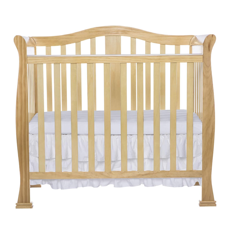 Dream On Me Addison 4 in 1 Convertible Mini Crib, White DREAS 633-W