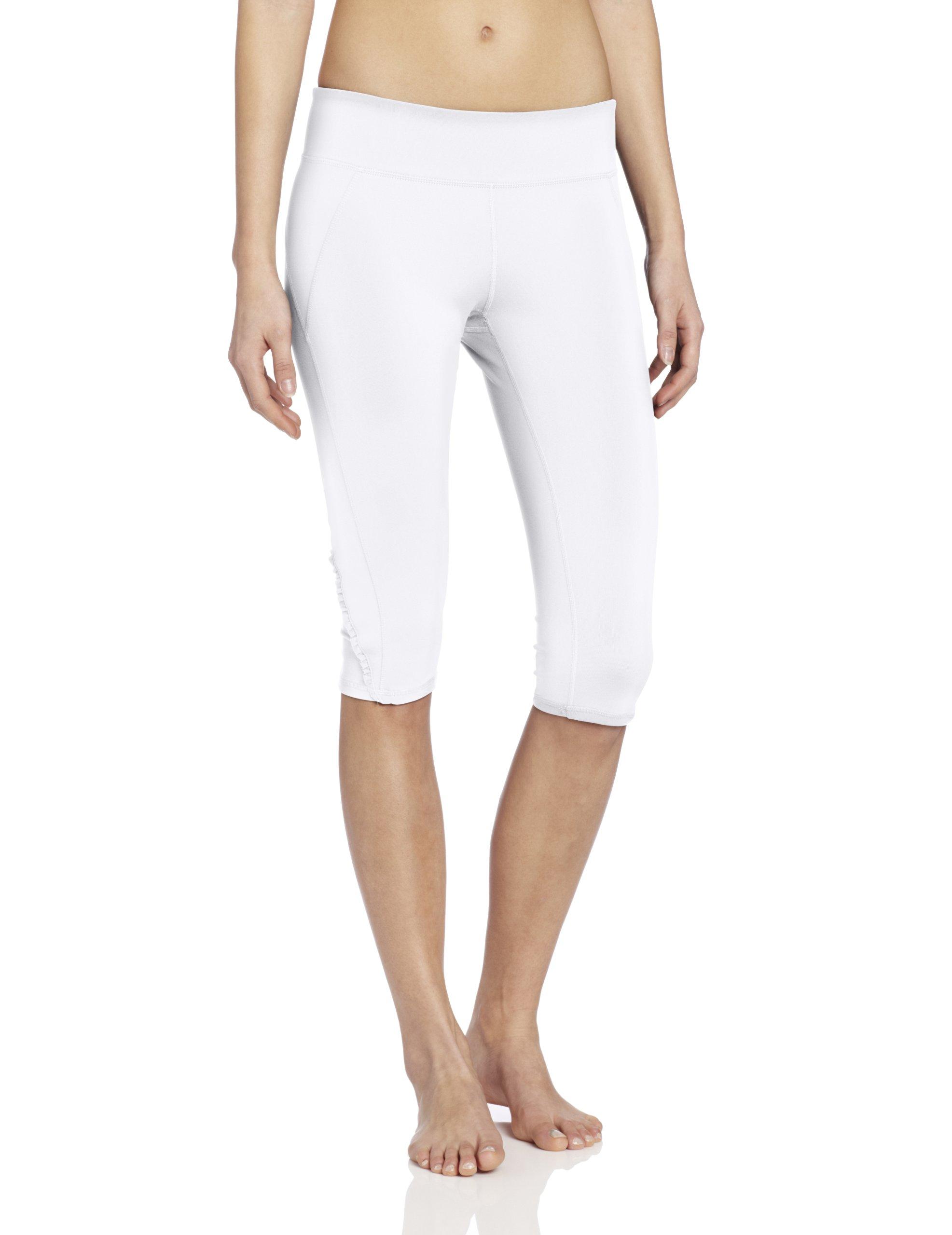Soybu Women's Killer Caboose Crop Pant, White X-Small