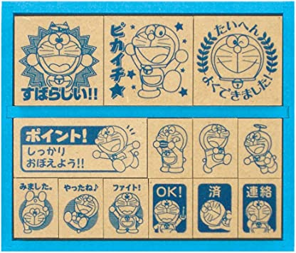 japan import Doraemon stamp SDH-034