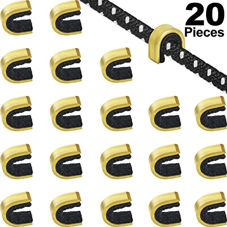6 Pieces//Set Bowstring Nocks Buckle Clips Nocking Point for Archery Hunting