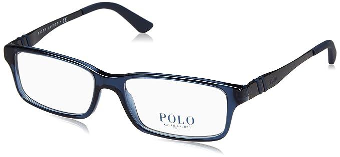 Ralph Lauren POLO 0PH2115 Monturas de gafas, Dark Blue Transparent ...