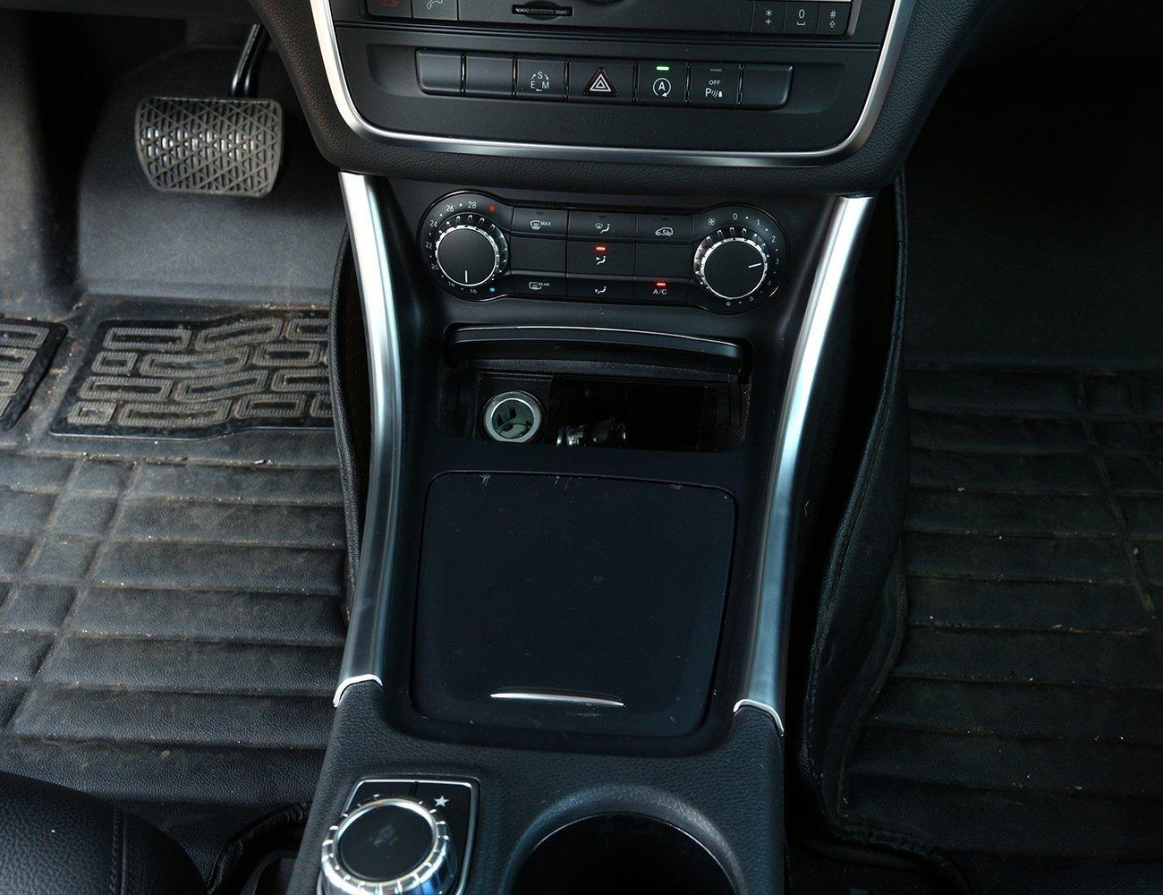 2 Chrom Center Console Panel Trim Aufkleber Dekoration Auto Zubehö r lyu-008