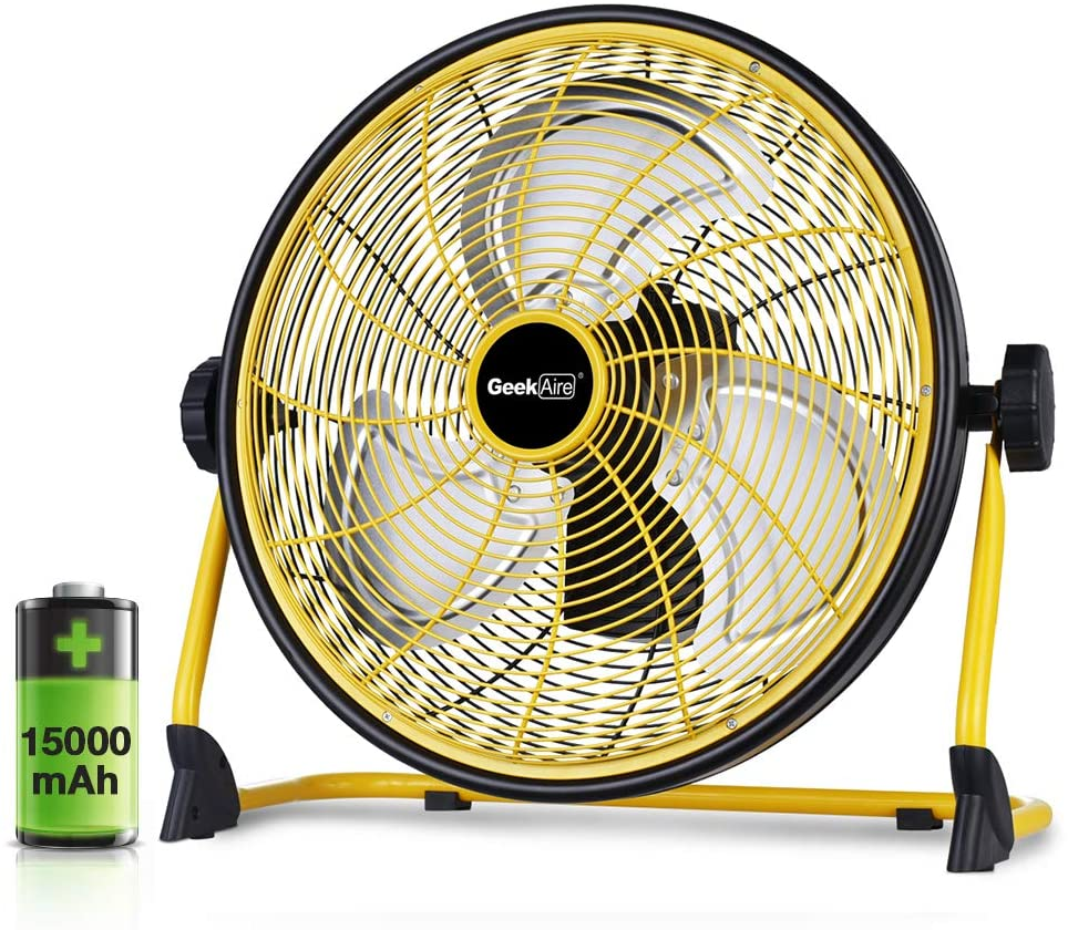 Geek Aire RECHARGEABLE FAN WITH POWER BANK FUNCTION