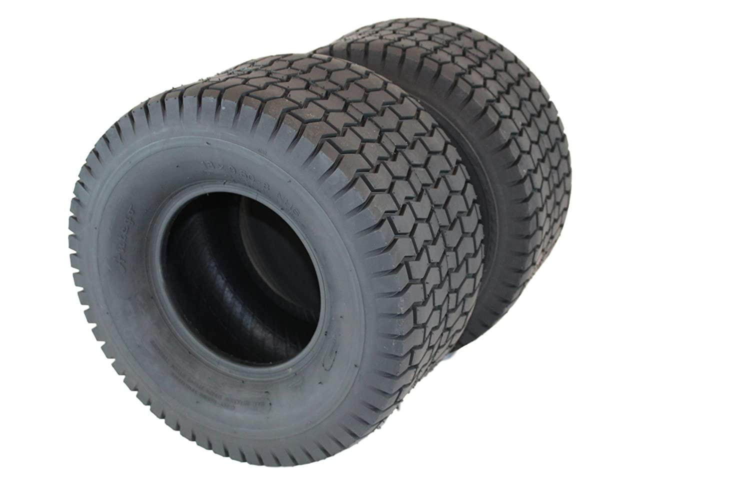 Antego Set of Two 18x9.50-8 4 Ply Turf Tire for Lawn & Garden Mower (2) 18x9.5-8